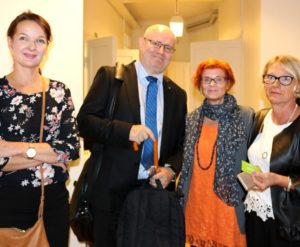 Cimson Henkilöstöpalvelut Helsinki vieraana työministeri Jari Lindström